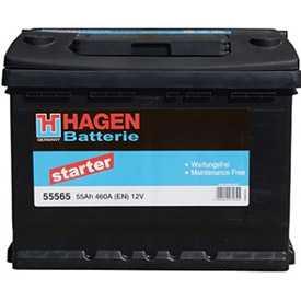 Аккумулятор HAGEN Starter 55565