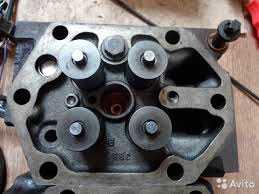 Головка блока цилиндра D2866LF28 MAN TGA