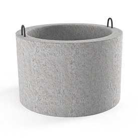 Кольцо колодца КС-20-9 железобетонное стеновое
