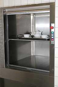 Грузовые лифты грузоподъемностью 100 кг