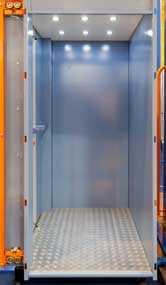 Платформа подъемная с вертикальным перемещением для инвалидов (закрытого типа) ППБ-225ВИ