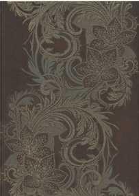 Плитка Декор Богема Ампир коричневый