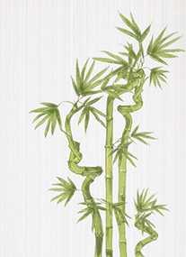 Плитка Декор Ретро бамбук 1