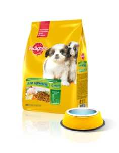 Pedigree Первый прикорм для щенков с 3 недель с курицей и рисом 600 гр