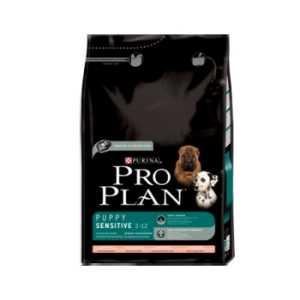 Pro Plan Puppy Puppy Sensitive с лососем и рисом 1 кг