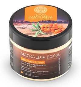 Маска для волос Шелковое золото - Natura Siberika