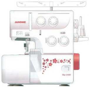 Швейная машина Janome HQ-075 D