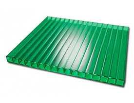Сотовый поликарбонат 4,0 зеленый разм. 2,1х6м