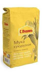 Мука кукурузная тонкого помола С. Пудовъ