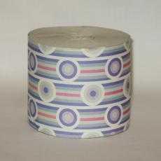 Бумага туалетная Вяселка 102 из вторичного волокна, однослойная, без втулки - АМИГУС