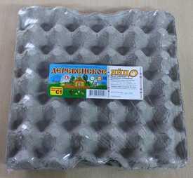 Яйцо куриное «Деревенское яйцо» С1, вакуумная упаковка, 30 шт