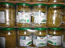 Горошек зеленый консервиров. 1/с 0,45 480 гр. РБ