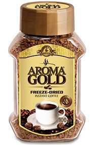 Кофе растворимый в rpaнулах AROMA GRAND 100r. 1/6 ст.б