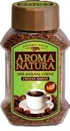 Кофе растворимый сублимированный AROMA NATURA 200г.1/6 ст.б