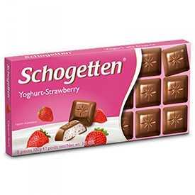 Шоколад молочный с начинкой со вкусом клубники 'МНк chocolate' 100г