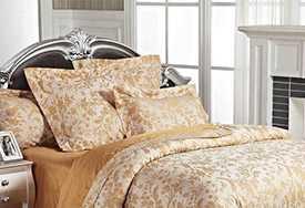 Белье постельное, модель ЭЛЕГАНТ (прованс -медовый) - Лангхайнрих Конфекцион Бел
