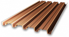 Профилированный лист (профнастил) Н-60