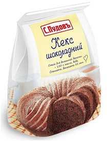 Кекс шоколадный п/п 400г