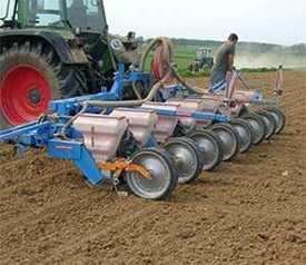 Сеялка для свеклы и кукурузы SCHMOTZER P4000