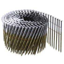 Гвозди барабанные 3,1 x 75 с проволочным соединением и углом наклона 16°