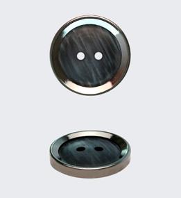 Пуговицы металлизированные
