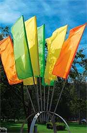 Флаги расцвечивания однотонные