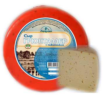 Сыр Грюнталлер с пажитником