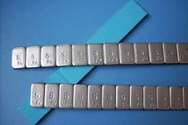 Грузики балансировочные самоклеющиеся (60гр 5х12)