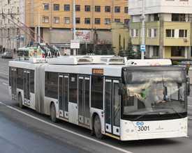 Троллейбус МАЗ-ЭТОН Т215