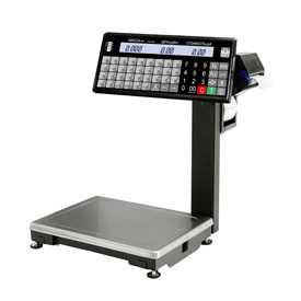 Весы торговые с печатью этикеток ВПМ-Т с отделительной пластиной