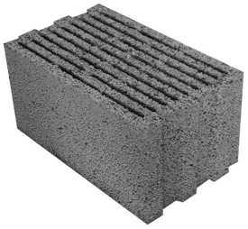 Блок керамзитобетонный строительный ТермоКомфорт 490х300х240 - ЗАВОД КЕРАМЗИТОВОГО ГРАВИЯ