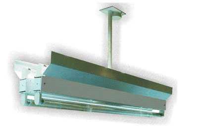 Облучатель бактерицидный потолочный ОБП-300К