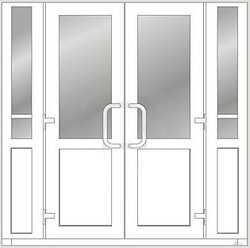 Двери из холодного профиля SP45