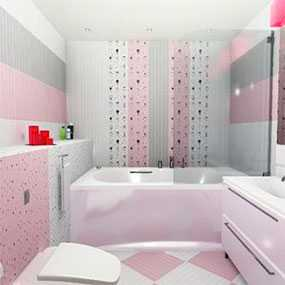 Плитка керамическая Сказка розовая