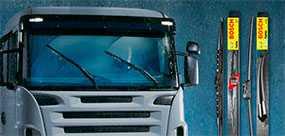 Стеклоочистители бескаркасные Aerotwin для грузовиков