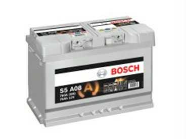 Аккумуляторы Bosch S5A AGM