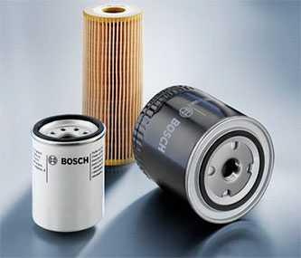 Масляные фильтры Bosch
