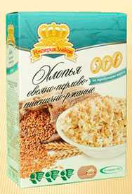 Хлопья овсяно-перлово-пшеничные не требующие варки 500г