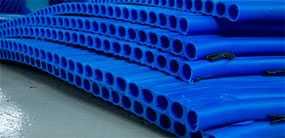 Трубы из полиэтилена спиральновитые с полой стенкой СВТ ПНД ПЭ 100