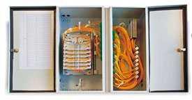 Шкаф оптический распределительный подъездный на 64 абонента