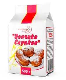Мучной полуфабрикат Пончики Слуцкие 500г