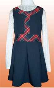 Сарафан для девочки младшего школьного возраста М-1726.2