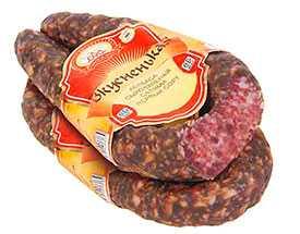 Колбаса сыровяленая салями «Вкусненькая» 1 сорт