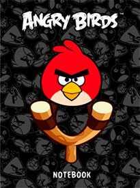Бизнес-блокнот 80л А6ф твердый переплет ANGRY BIRDS