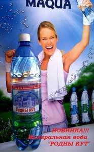 Вода минеральная питьевая лечебно-столовая газированная 'Родны кут' 1,5 л
