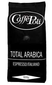 Кофе в зернах Caffe Poli Total Arabica