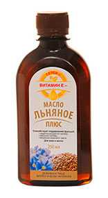 Масло льняное плюс Селен-витамин Е, БАД 250 мл