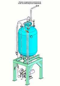 Линия дозирования силикона. Оборудование для производства пенополиуретанов