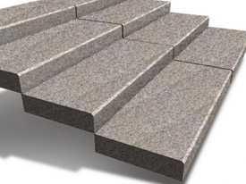 Ступени цельные из натурального камня 1000х400х120 мм-Гродненский камнеобрабатывающий завод (Беларусь)