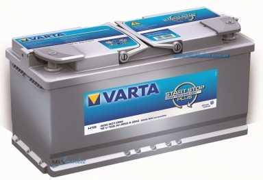Аккумуляторы Varta Start-Stop Plus H15 605 901 095 (105 А/ч)